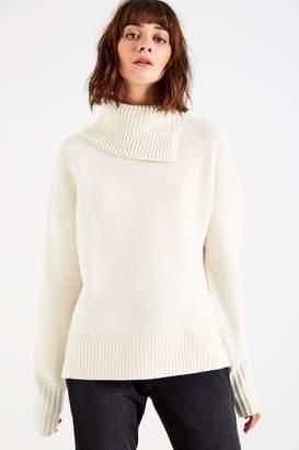 Jack Wills Adelaide Textured Roll Neck Sweater
