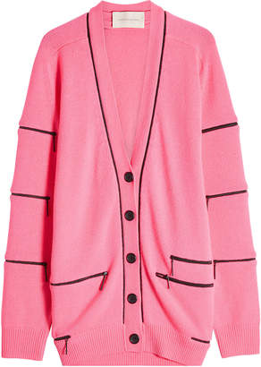 Christopher Kane Cashmere Cardigan with Zippers