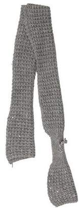 Blumarine Girls' Embellished Knit Scarf