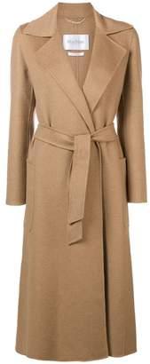 Max Mara single-breasted belted coat