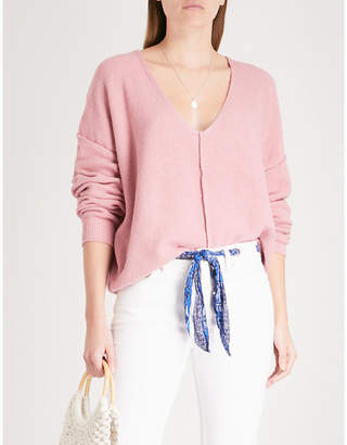 Free People Take Me Places knitted jumper
