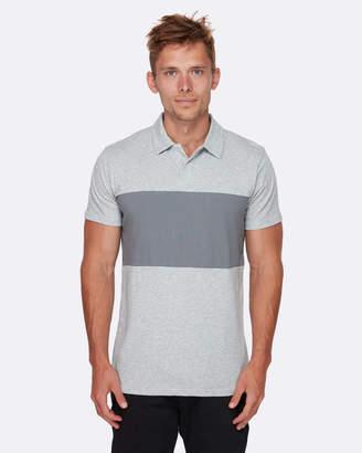 Quiksilver Mens Kuju Technical Short Sleeve Polo Shirt
