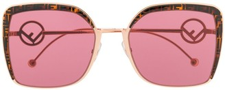 Fendi Eyewear square sunglasses