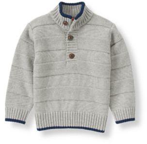 Janie and Jack Tipped Textured Sweater