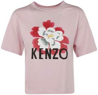 Kenzo Floral Print T-shirt