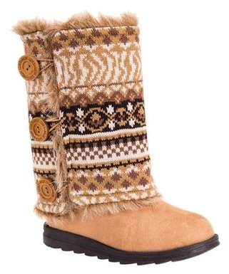 Muk Luks Women's Reversible Andrea Sweater Boot