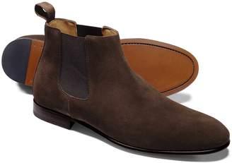 Charles Tyrwhitt Chocolate Chelsea Boot Size 9