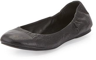 Delman Maya Cap-Toe Ballerina Flat $109 thestylecure.com