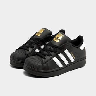 e443b3cd1da9 adidas Little Kids  Superstar Casual Shoes