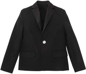 Balmain Cool Wool Tuxedo Jacket