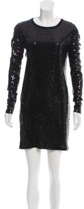 MICHAEL Michael Kors Sequined Evening Dress