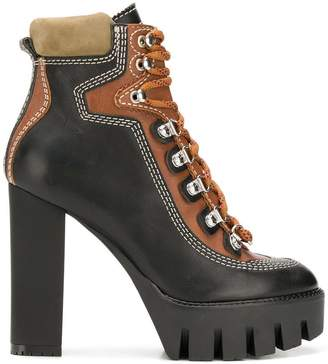 DSQUARED2 high lace-up boots
