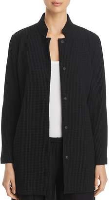 Eileen Fisher Petites Textured Longline Jacket