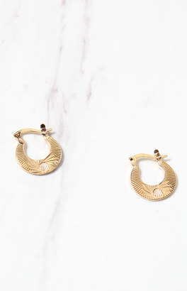 Frasier Sterling Cleopatra Hoop Earrings