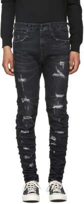 R 13 Black Skywalker Jeans