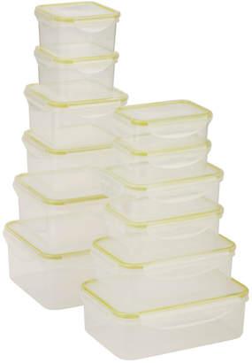 Honey-Can-Do Snap-Tab 12Pc Food Storage Set