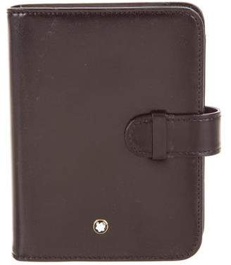 Montblanc Leather Agenda Cover