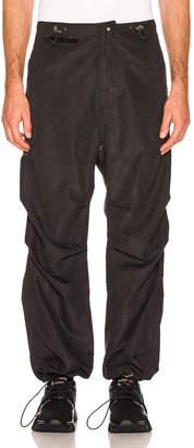 032c Adjustable Strap Pants in Black | FWRD