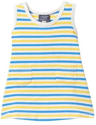 Toobydoo Linnea Striped Tank Dress (Baby, Toddler, & Little Girls)