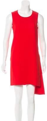 Christian Dior Crew Neck Knee-Length Dress
