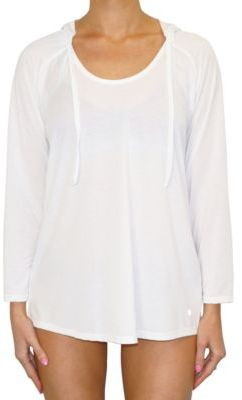 Next Palm Print Hooded Cover-Up $68 thestylecure.com