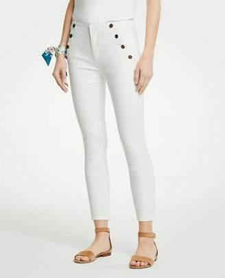 Ann Taylor Sailor Skinny Crop Jeans