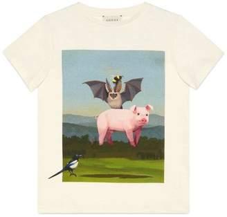 Gucci Children's Ignasi Monreal T-shirt