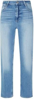 Paige Sarah High Rise Straight Leg Jeans
