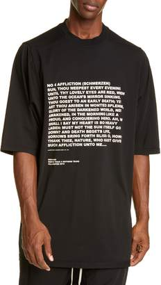 Rick Owens Jumbo T-Shirt