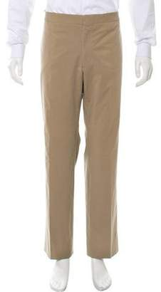 Fendi Cropped Flat Front Casual Pants