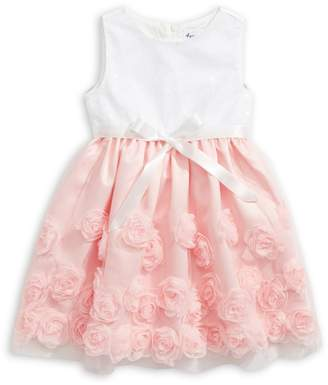 4ever Free Little Girl's Sequined Floral Tulle Dress