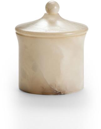 Labrazel Alisa Alabaster Bath Canister, Cream