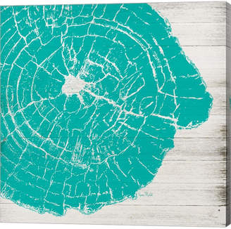 Metaverse Tree Rings Iv By Ramona Murdock Canvas Art