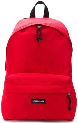 Balenciaga classic logo backpack