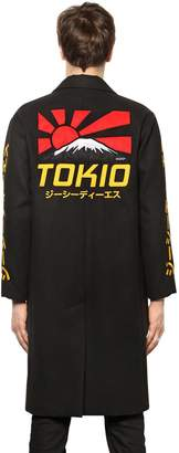 Tokio Embroidered Cloth Long Coat