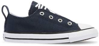 Converse Logo Printed Cotton Canvas Sneakers