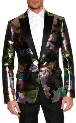DSQUARED2 Men's Multicolor Camouflage Dinner Jacket