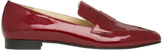 Yuana Deep Red Patent Leather Loafer