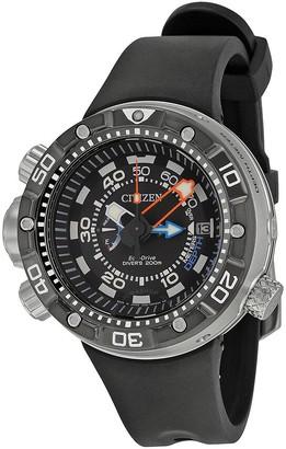 Citizen Promaster Aqualand Depth Meter Black Dial Men's Watch