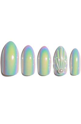 STATIC NAILS Mermaids Are Real Holographic Pop-On Reusable Manicure Set