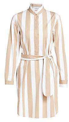 Akris Punto Women's Kodak Stripe Wool Shirtdress