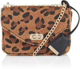 28087f98dc Next Womens Glamorous Leopard Print Cross Body Bag