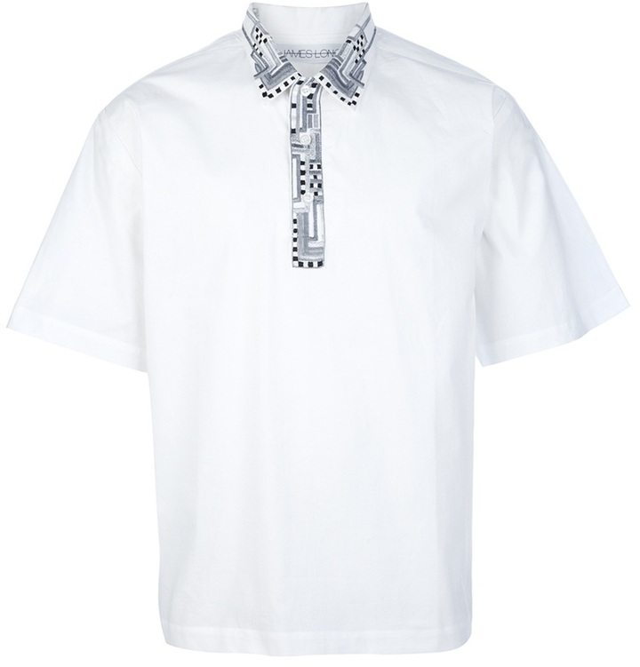 James Long embroidered shirt
