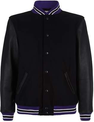 Palm Angels Wool Varsity Jacket