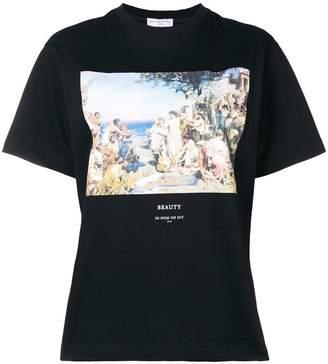 Ih Nom Uh Nit front printed T-shirt