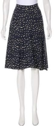 Apiece Apart Silk Knee-Length Skirt