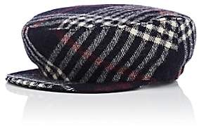 Isabel Marant Women's Naly Virgin Wool Driving Cap-Navy