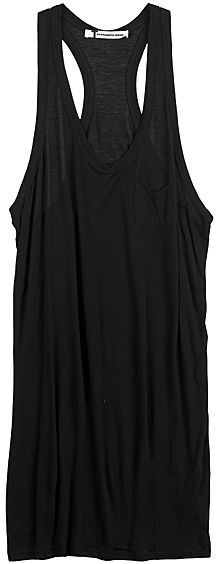 T by Alexander Wang Mini Pocket Tank Dress