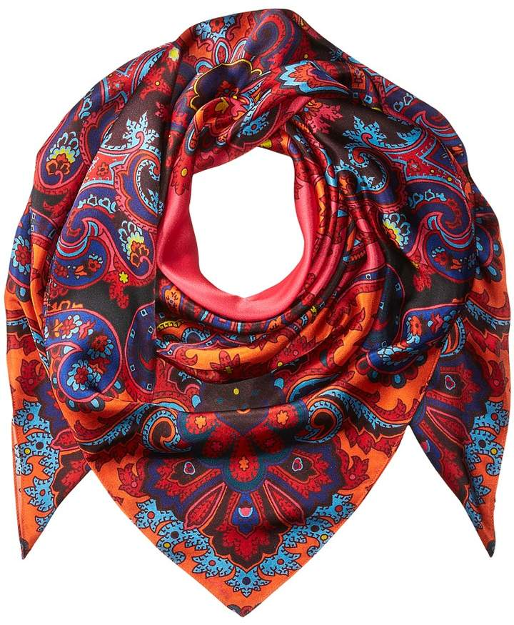 Echo Design - London Nights Silk Square Scarf Scarves
