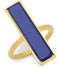 Freida Rothman Linear Gemstone Ring